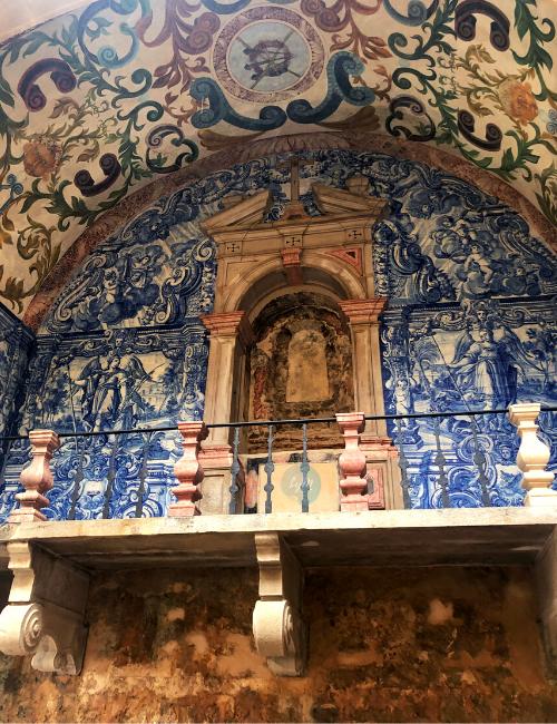 Balcon barroco de Óbidos una villa medieval