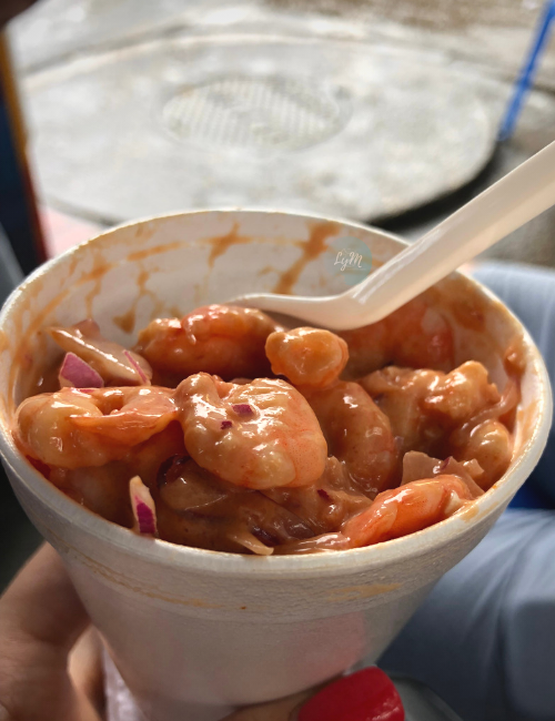 camarones de Cartagena de Indias