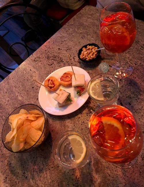 aperitivo en Verona