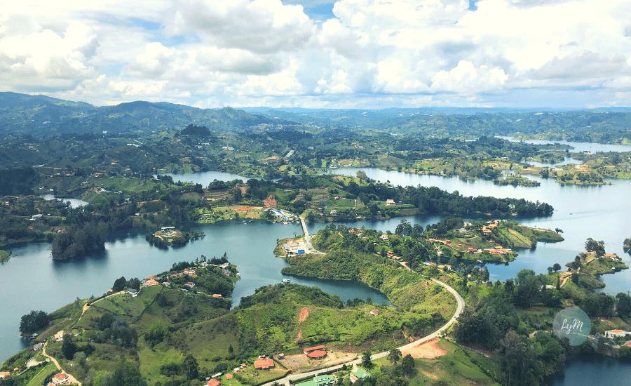 panoramica guatape