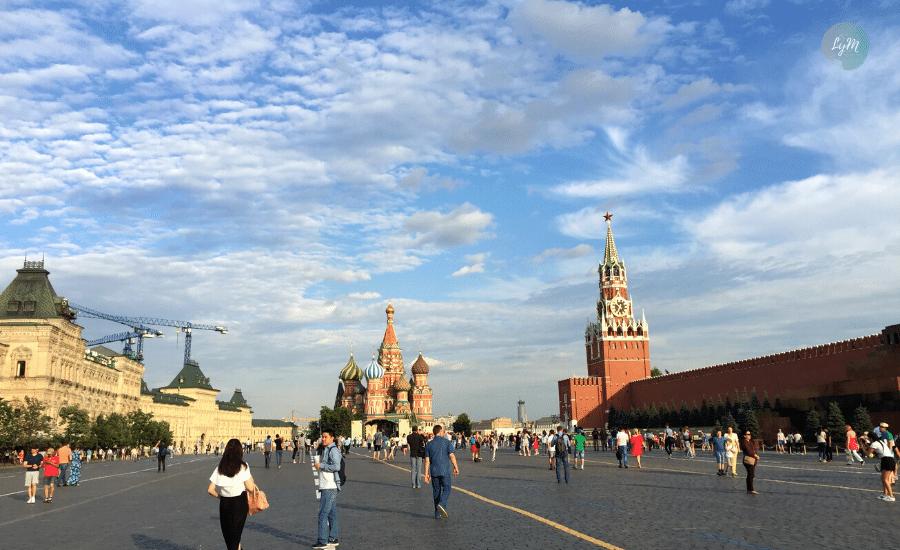 plaza roja que ver en Moscú